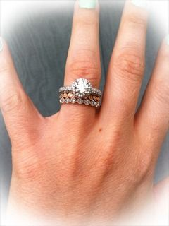the bottom ring is beautiful and I think it would be perfect with