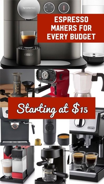 These Espresso Makers Are For Any Budget Super Affordable Options