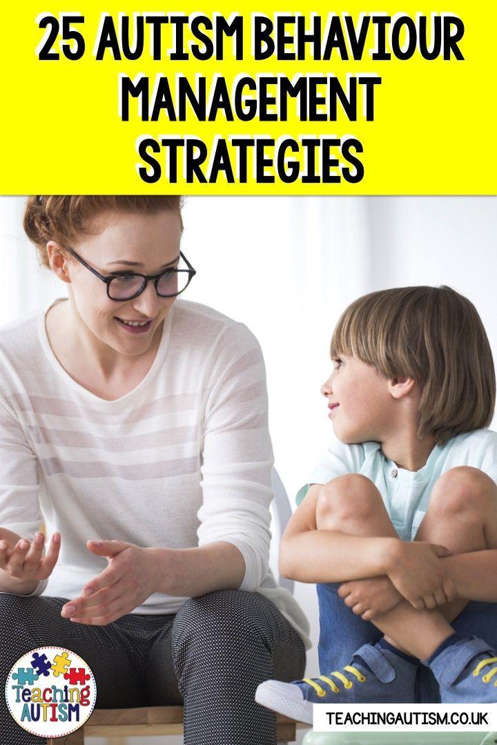 Autism Behaviour Strategies for School & Home - Teaching Autism