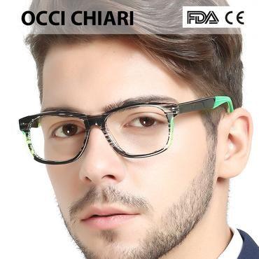 928b488820 ... OCCI CHIARI Italy Design Sport Style Mens Prescription Nerd Lens  Medical Optical Glasses Fashion Eyewear Gift ...