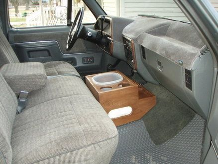 Truck Floor Console With Hidden Compartment | wood working | Pickup