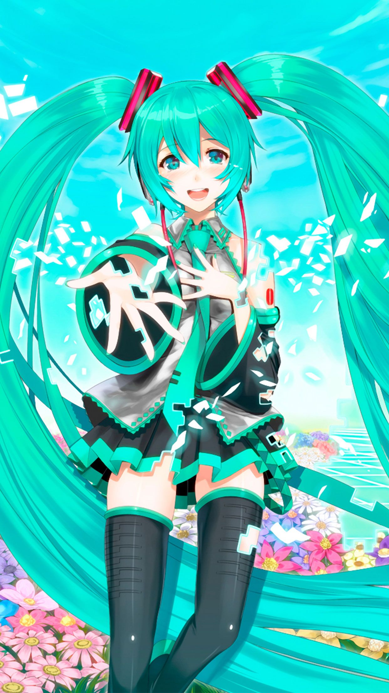 Hatsune Miku Anime Wallpaper For Iphone And Android Check Out More On Wallzapp