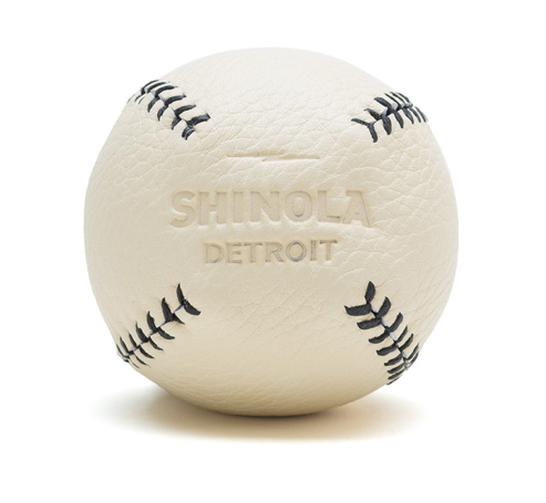Leather Baseball from Shinola