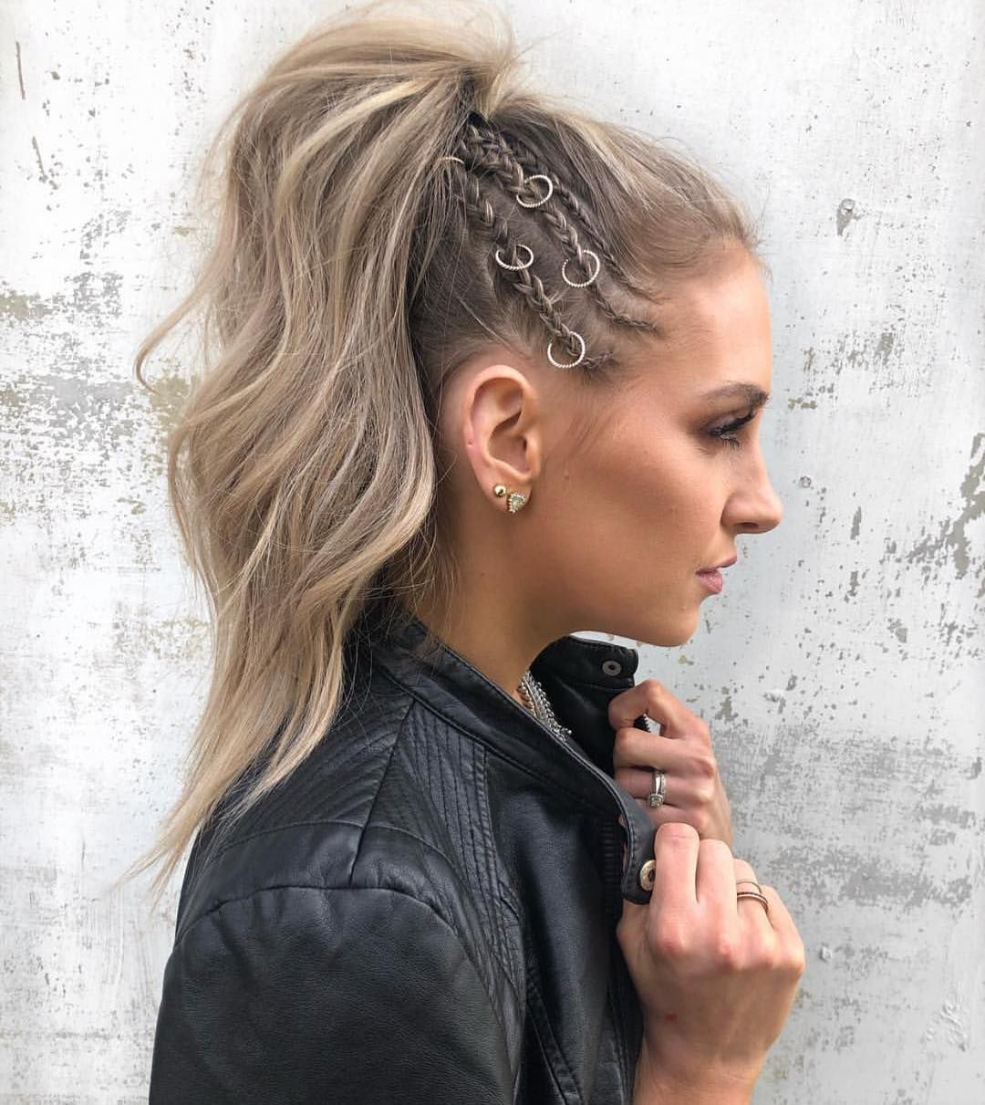High Pony Club By Shelbyweatherholtzhair Ringaccessories Hairaccessories Highponytail Hair Styles Rock Hairstyles Weekend Hair