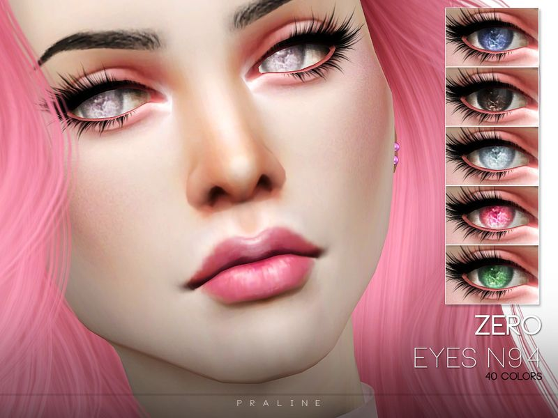 Eyes in 40 colors  Found in TSR Category 'Sims 4 Eye Colors' | Sims