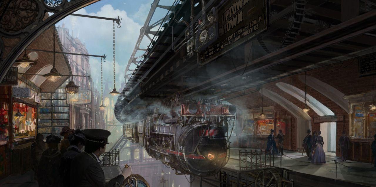 "edgertttechnology: "" Train Platform by Lincoln Renall """