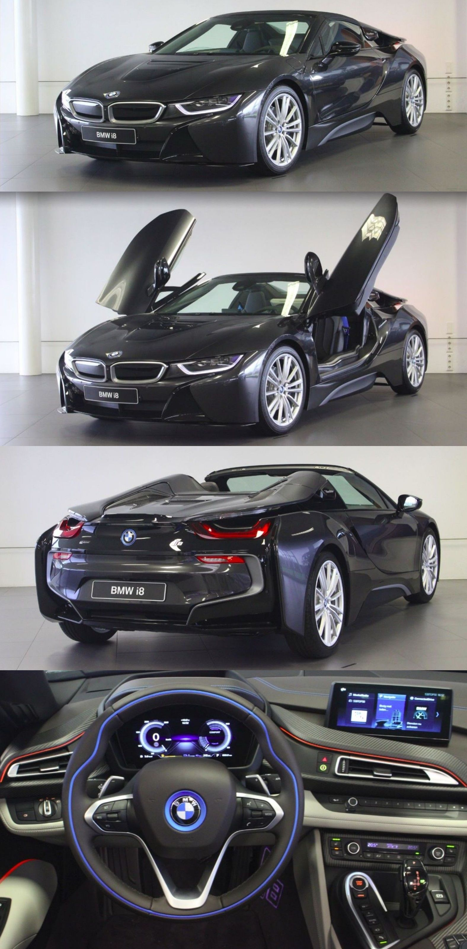 Bmw I8 Roadster Bmw Sports Car Bmw Concept Car Bmw Sport