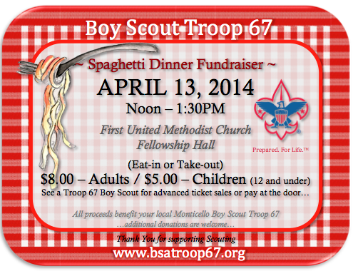 ticket template pages troop 67 spaghetti dinner fundraiser april – Ticket Template for Pages