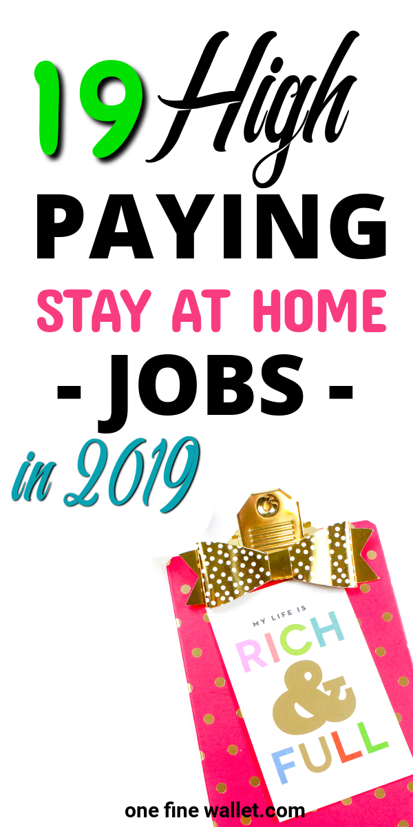 Best Work From Home Jobs 2020.19 Best Flexible Stay At Home Mom Jobs Updated For 2020