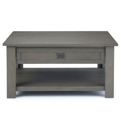 Fabulous Simpli Home Monroe Square Coffee Table Color Products In Home Interior And Landscaping Fragforummapetitesourisinfo