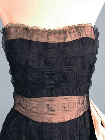 Coco Chanel Couture c 1950s Augusta Auctions