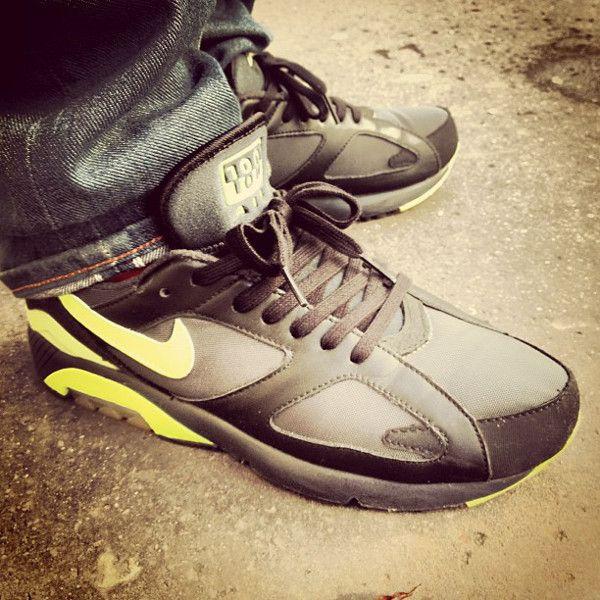 Nike Air 180 Black/Volt - Sinner Lucas