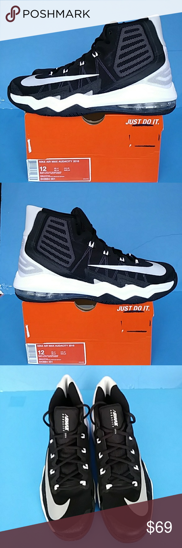 08d5a376a47f3 BRAND NEW NIKE AIR MAX AUDACITY 2016 100% AUTHENTIC NIKE AIR MAX AUDACITY  2016 BAR