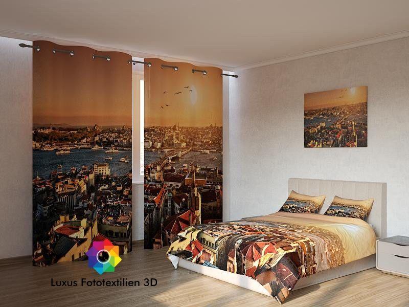 5Tlg. SchlafzimmerKomplett in Luxus Fotodruck 3D. Alle