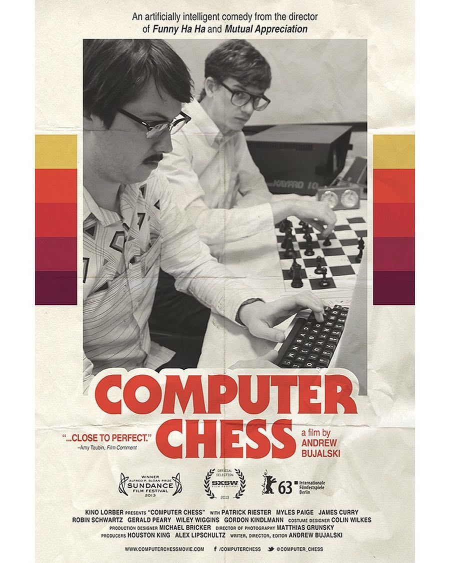 77 Likes 2 Comments Fandor Fandorfilms On Instagram Delightfully Retro In Style Shot On Clearly Outdated B W Computer Chess Best Movie Posters Chess