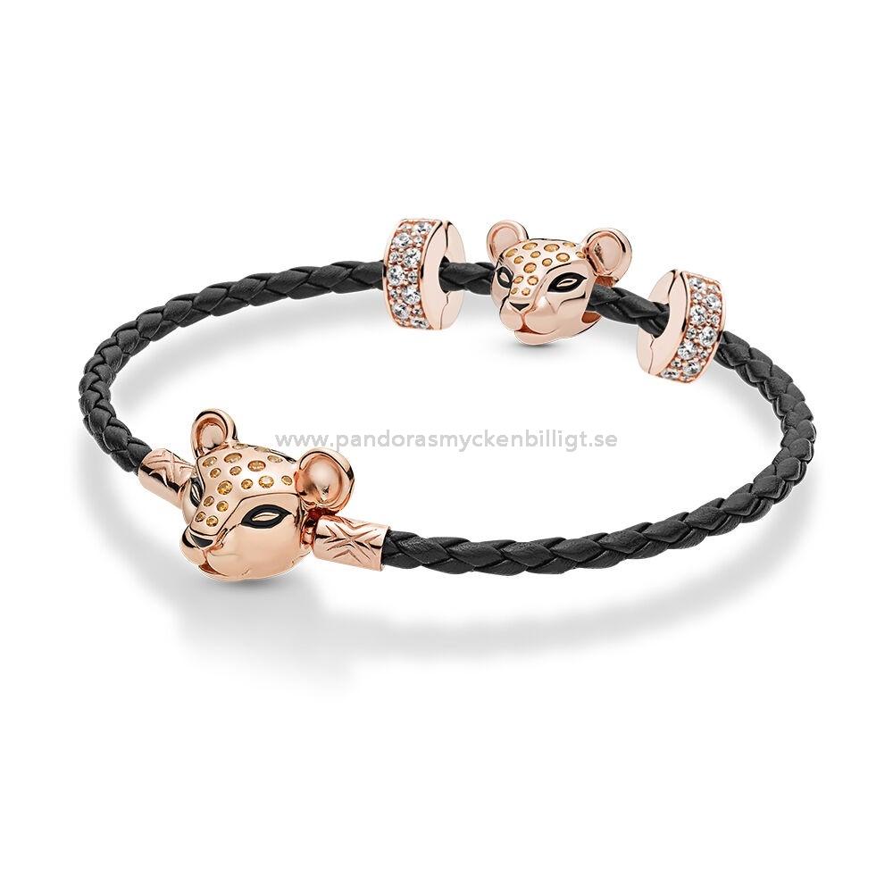 Handla Smycken Pandora Rose Läder Lejoninna Armband Uppsättning ...