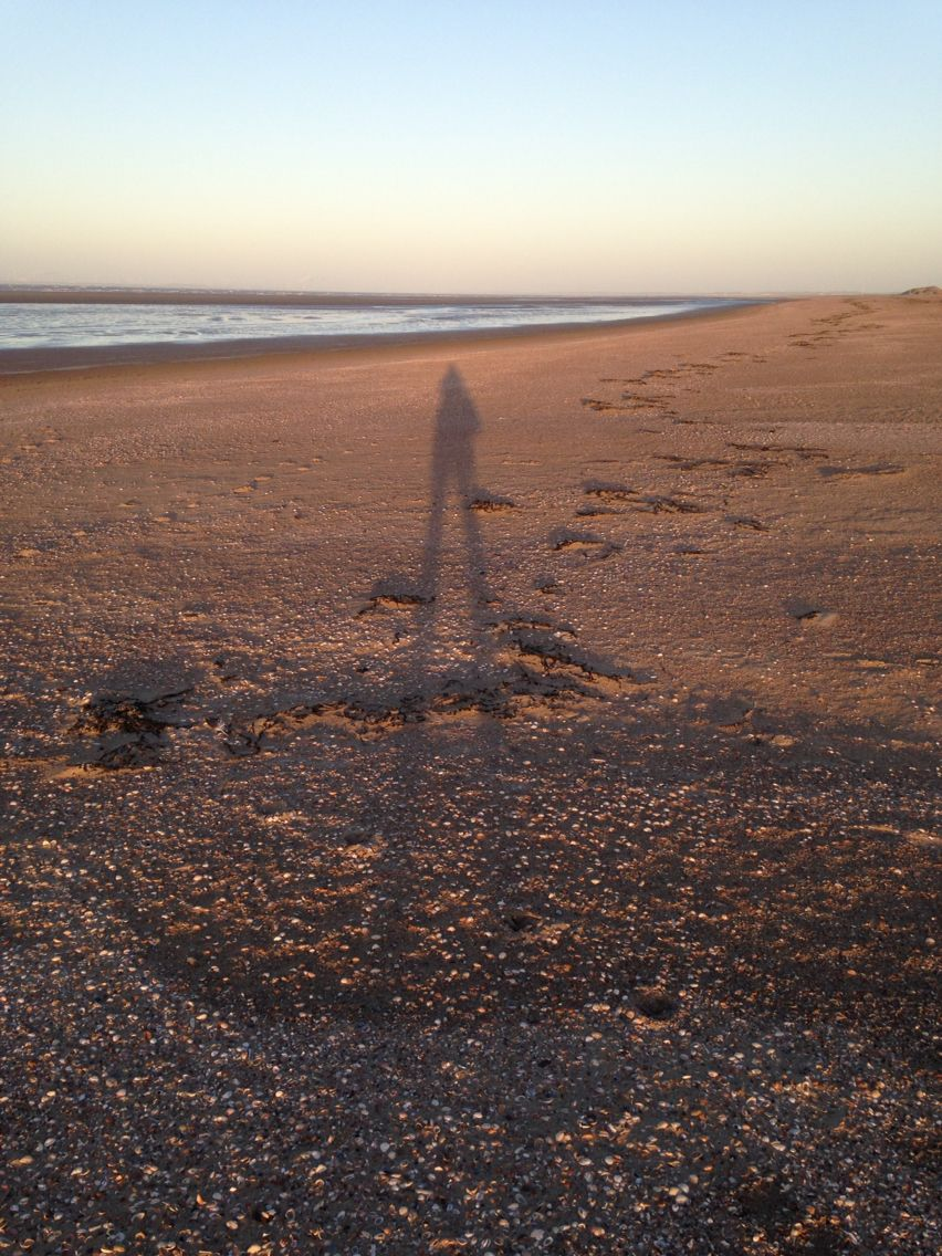 Zonnetje op het strand van Ouddorp, december 2015