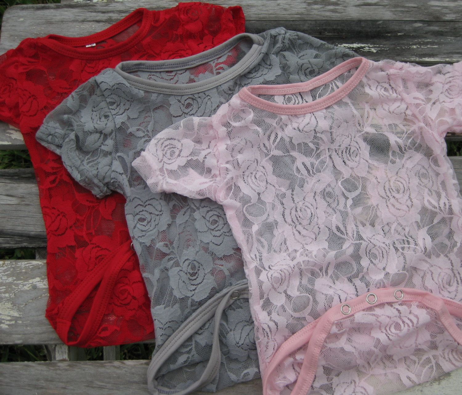 Lace bodysuit shirt  Baby girls Lace Bodysuit lace shirt for baby by IssaBugsBoutique