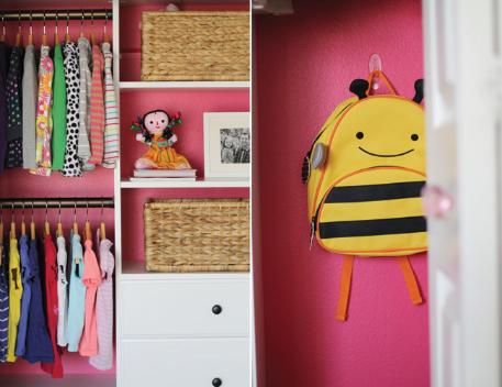cute little girlie closet