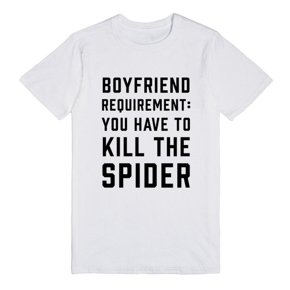 Boyfriend Requirement: You Have To Kill The Spider