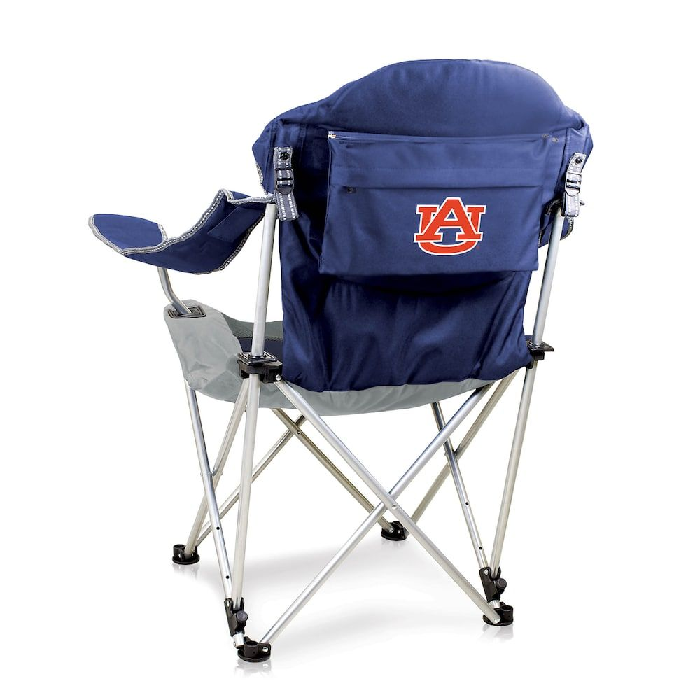 Outdoor Picnic Time Auburn Tigers Reclining Camp Chair Red