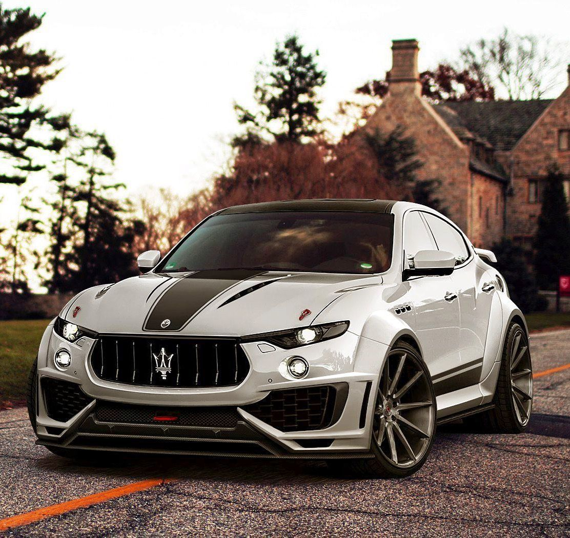 Maserati Levanti Custom Tuned Widebody. Check Out Facebook