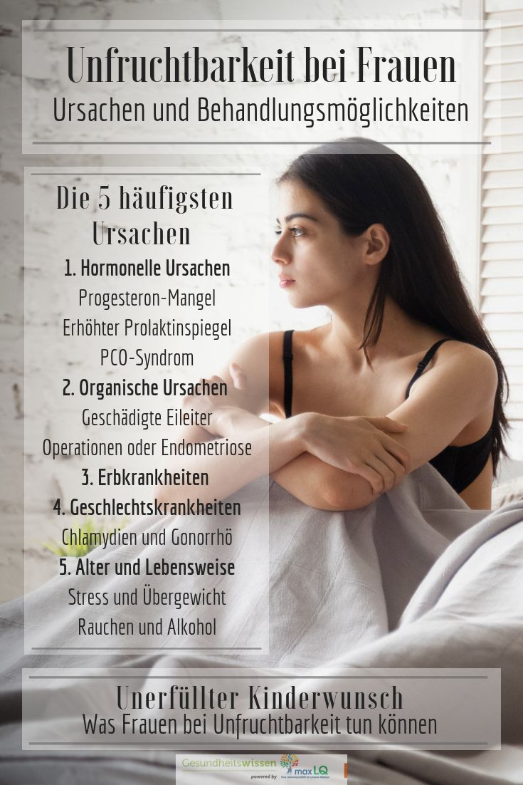 Unfruchtbarkeit Bei Frauen Ursachen Und Moglichkeiten Kinder