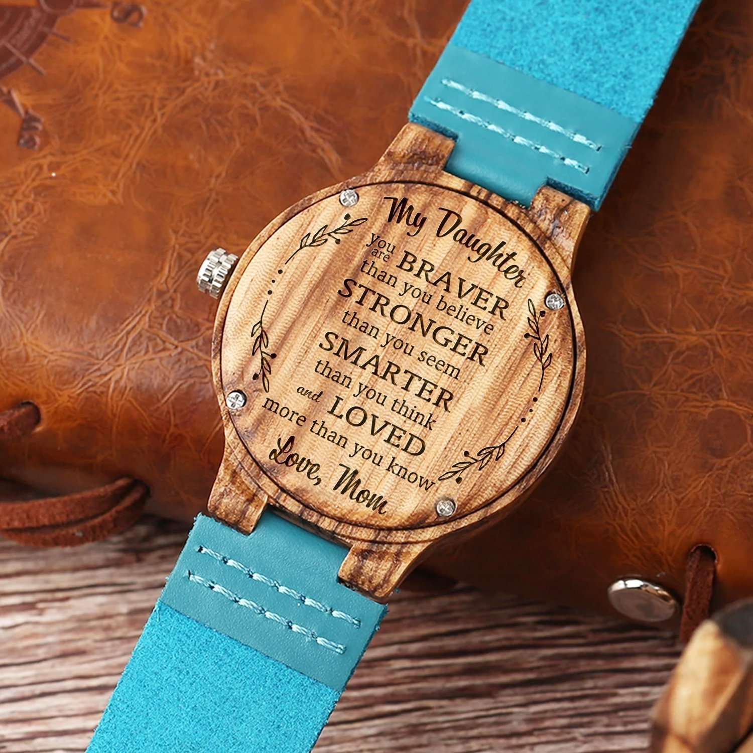 0b639242cb9 Daughter Wood Watch Gifts in 2019