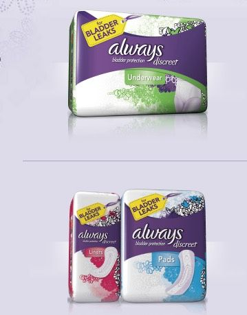 FREE Always Discreet Incontinence Sample Packs! | Incontinence tips