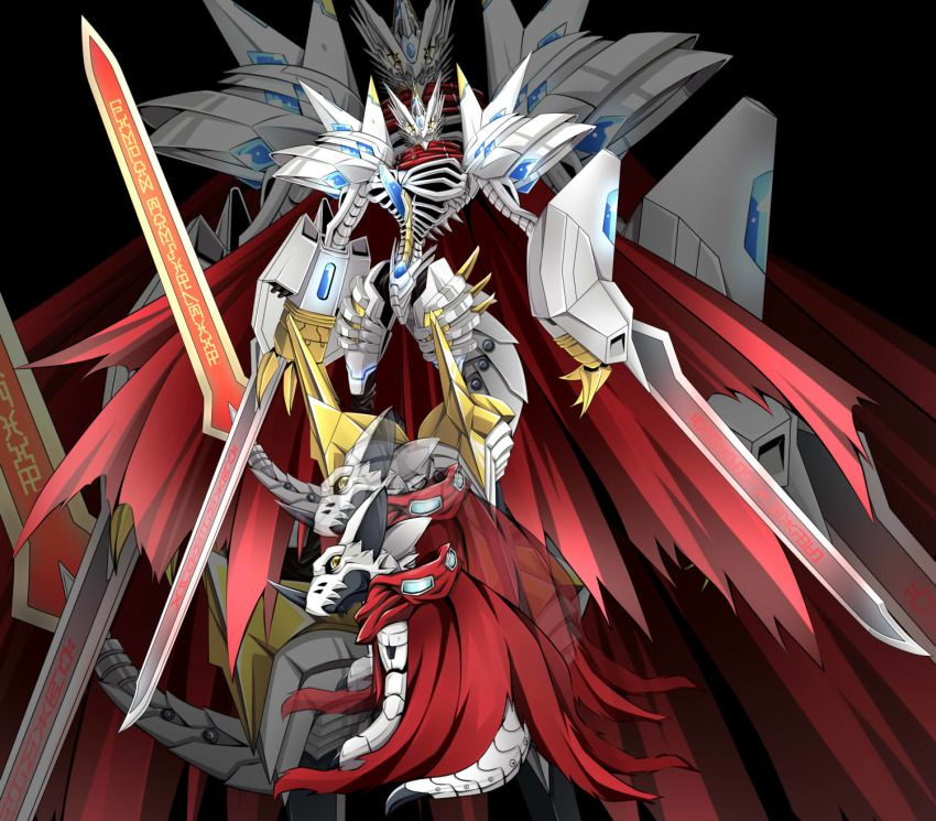 Anime Picture Search Engine Armor Cape Claws Digimon Goggles Hackmon Highres Horns Jesmon Looking At Viewer Looking Back No Digimon Digimon Adventure Anime It exceeded the perfection shining from the crystal in saviorhuckmon's chest, assumed its ultimate form, and acquired the title of a royal knight, the highest rank of network security. digimon digimon adventure anime