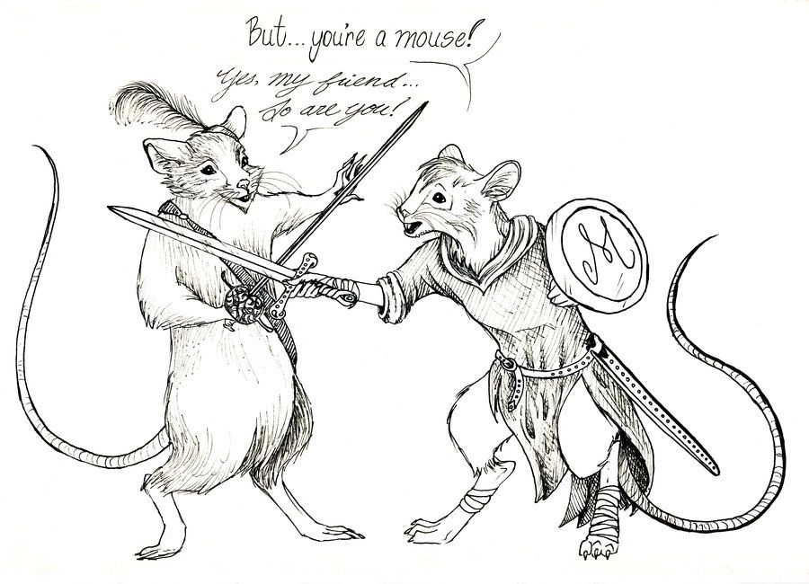 Reepicheep and Matthias by Aeternus-Spero on DeviantArt//It\'s Narnia ...