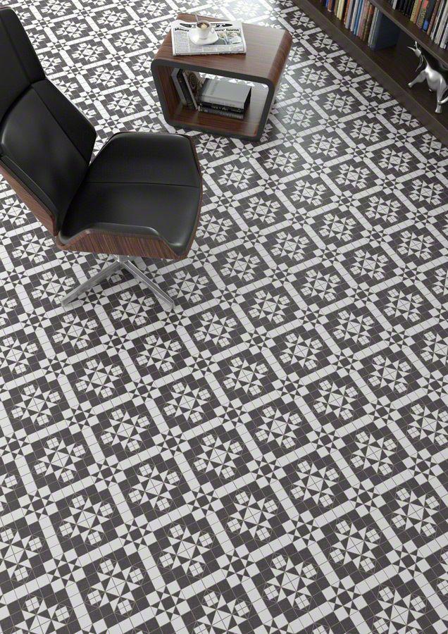 Tile Samples Belgravia Victorian Mosaic Pattern Porcelain Wall