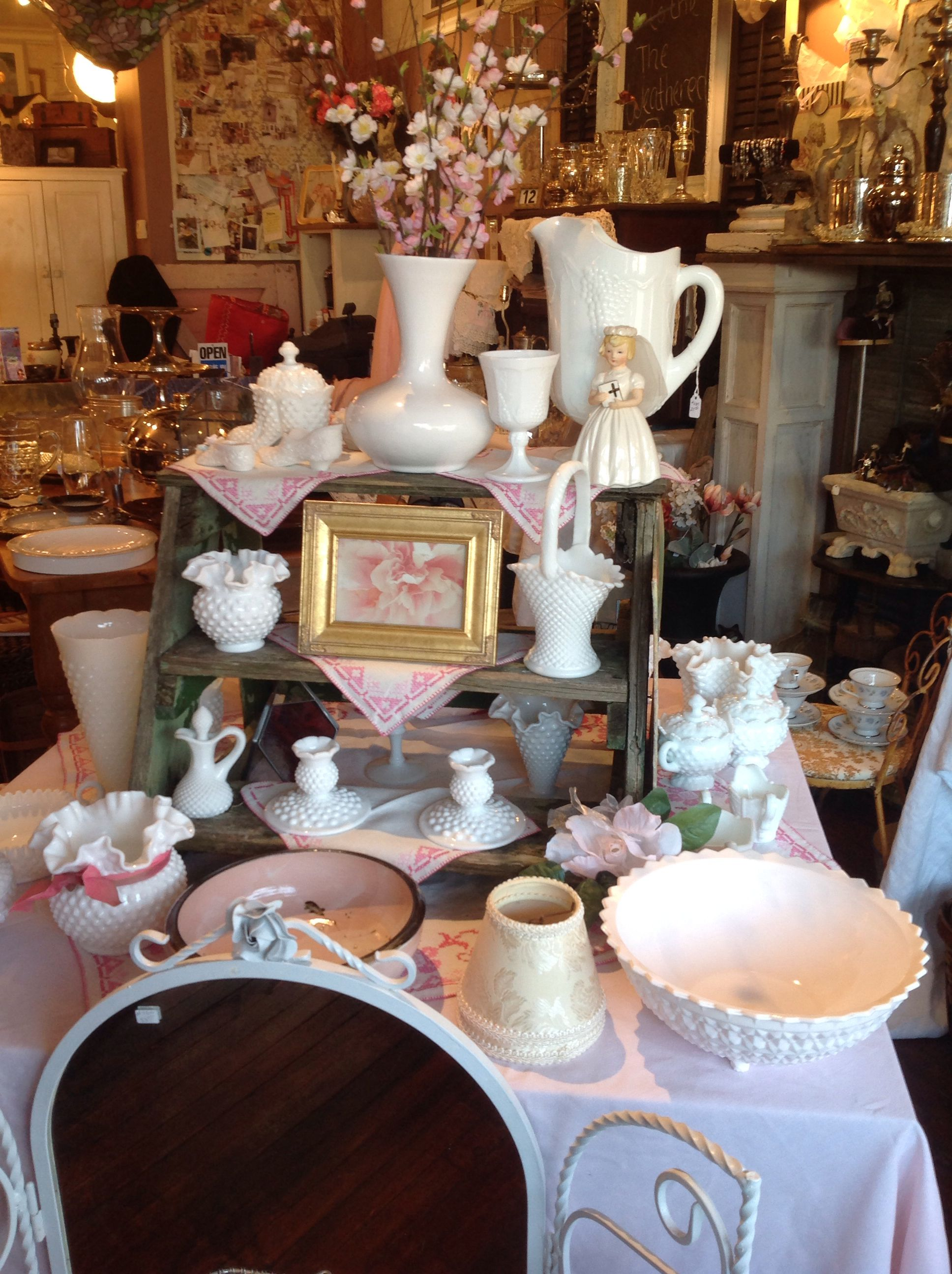 Shabby Chic Shop Shabby Chic Store Display From The Weathered Nest! Yum ...