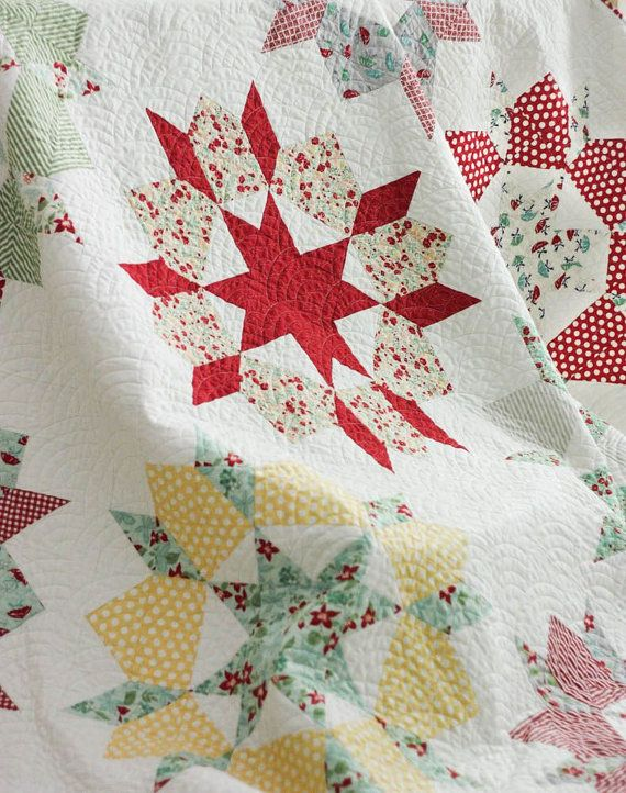 Swoon Quilt Full Size Quilt April Showers by CottonBerryQuilts