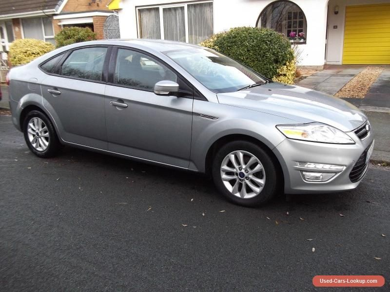 2013 Ford Mondeo Zetec 1 6 Tdci 6 Speed Hatchback Silver Ford