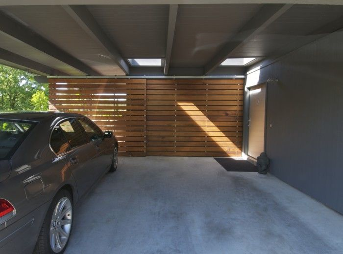 Options For Carport Open To Left Storage Under Stair To