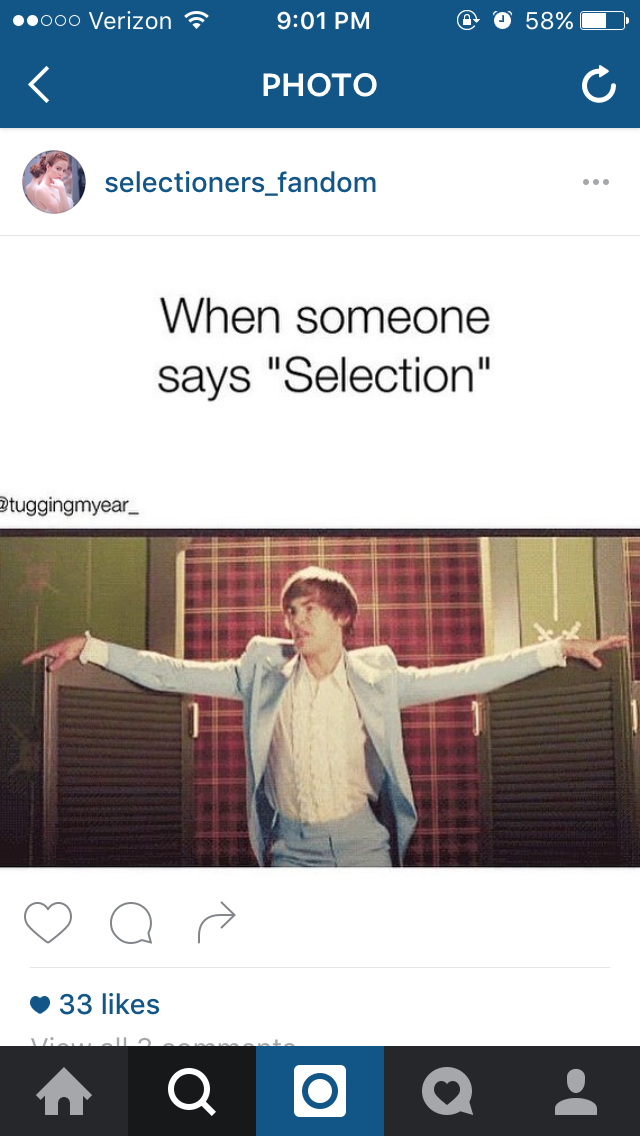 Did somebody say... SELECTION?!?!?!