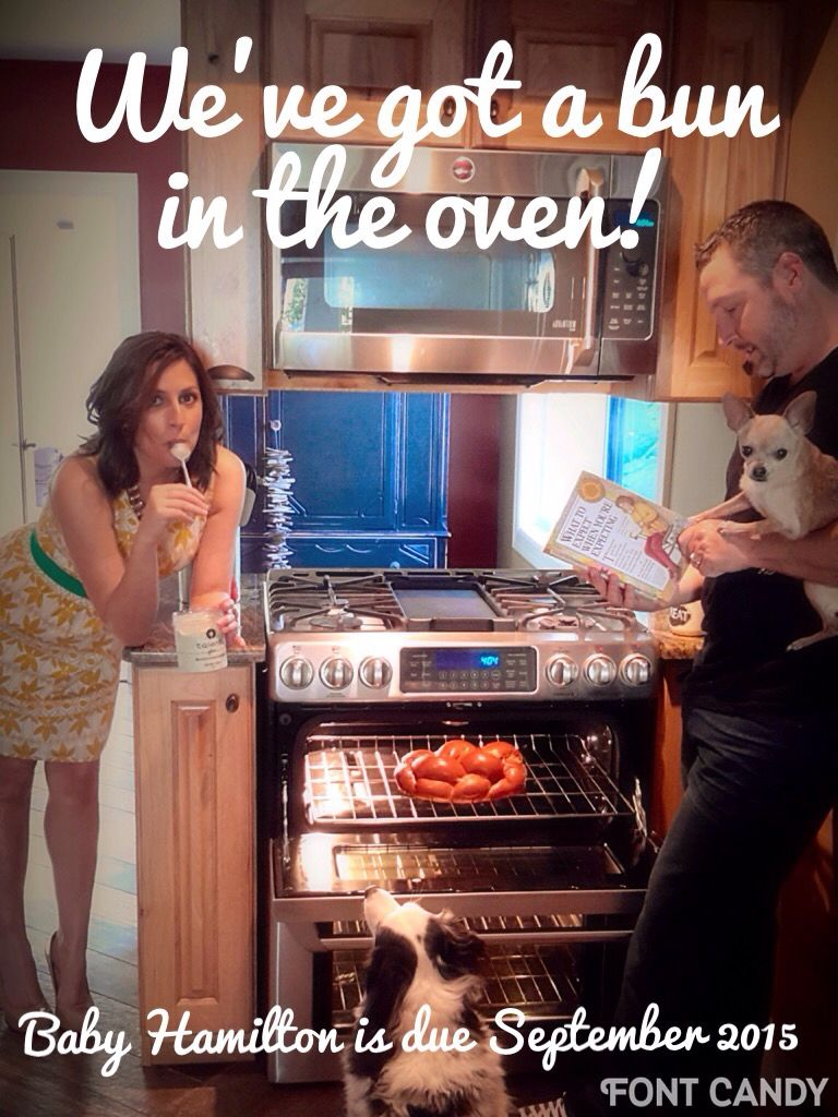 Bun in the oven pregnancy announcement | baby | Pregnancy