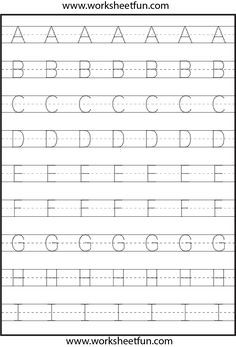 Letter Tracing Letter Tracing Worksheets And Tracing Worksheets