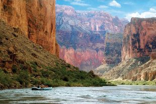 Rafting the Grand Canyon.