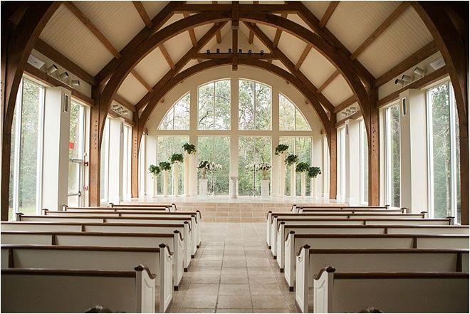Houston Wedding Venue Beautiful Church Ceremony Rustic