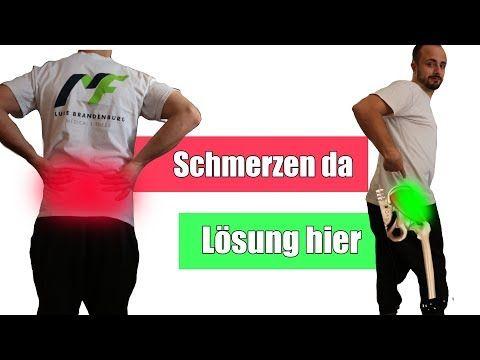 Kreuzschmerzen - Schmerzen unterer Rücken - Hexenschuss..