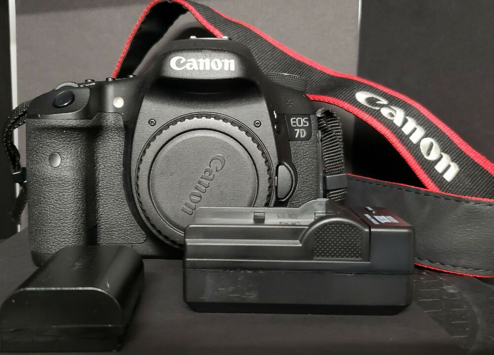 Canon EOS 7D 18 0MP Digital SLR Camera Shutter # 2177 w