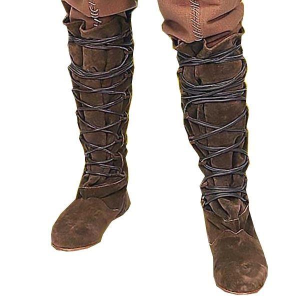 Medieval and Renaissance 125473  Locksley Boots ,Shoes, Larp, Leather,  Pirate, Reenactment, Renaissance, Theater -  BUY IT NOW ONLY   120 on eBay! 711453435ba