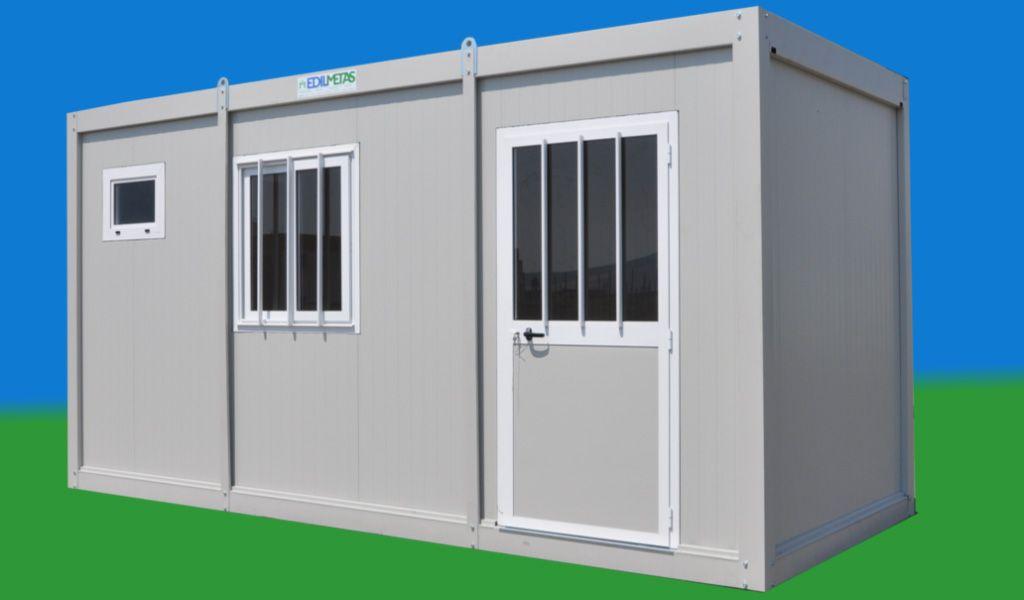 Monoblocco prefabbricato coibentato container box for Case uso ufficio