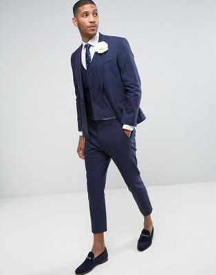 ASOS WEDDING Skinny Suit In Navy. Azul MarinoModa OnlineTrajeComprarTrajes  ...