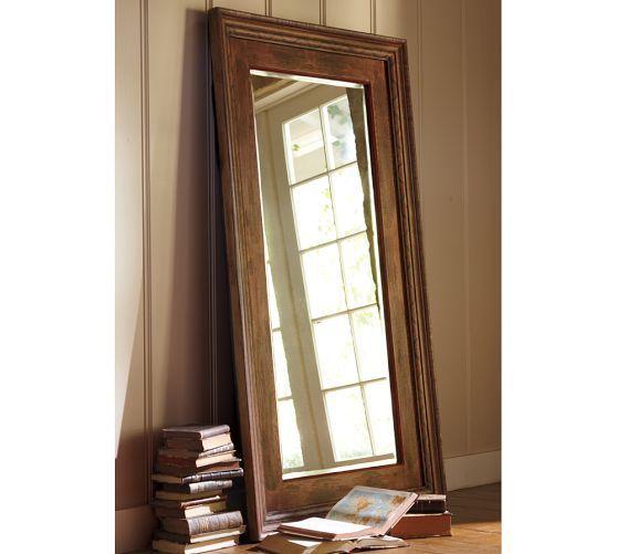 Santorini Painted Wood Floor Mirror, 36 x 66 POTTERY BARN $500 - Santorini Painted Wood Floor Mirror, 36 X 66 POTTERY BARN $500