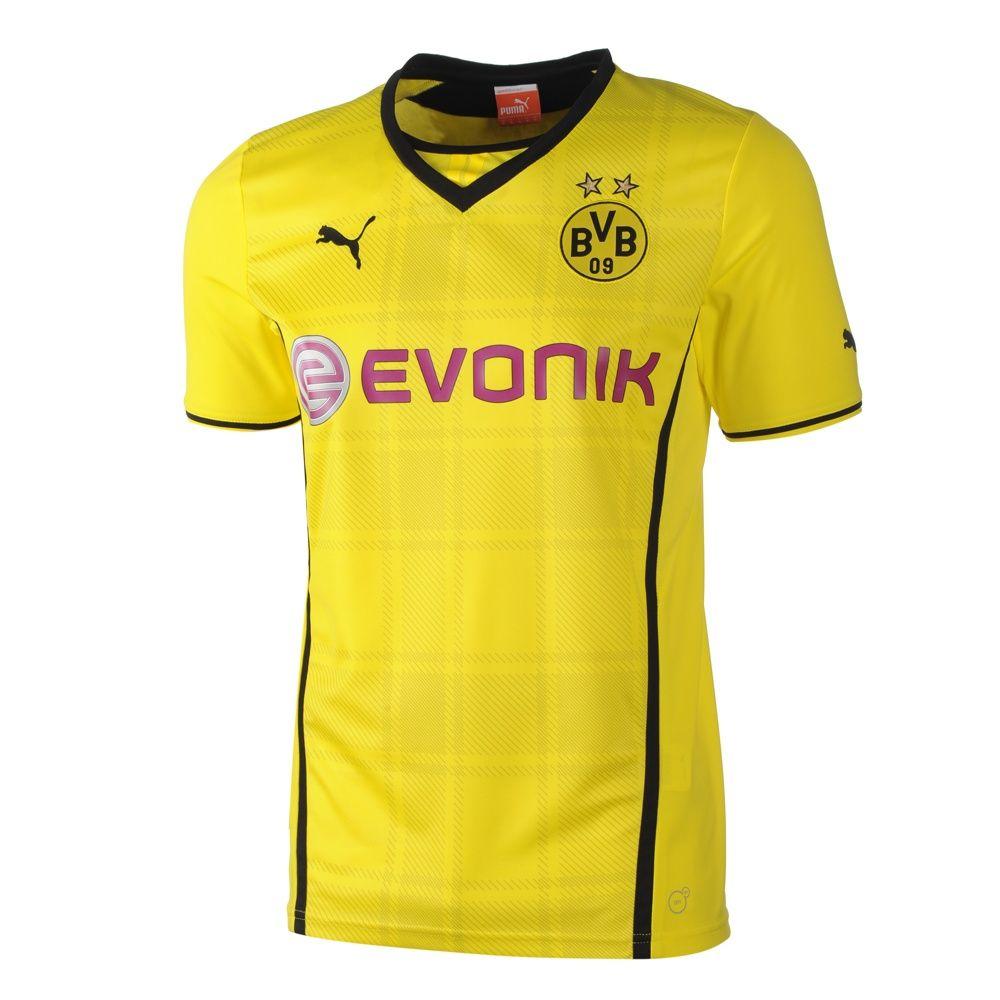 BVB Borussia Dortmund (Germany) 20132014 Puma Home Shirt