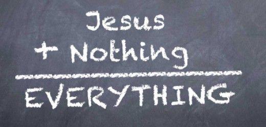 Jesus + Nothing = Everything ~ Tullian Tchividjian