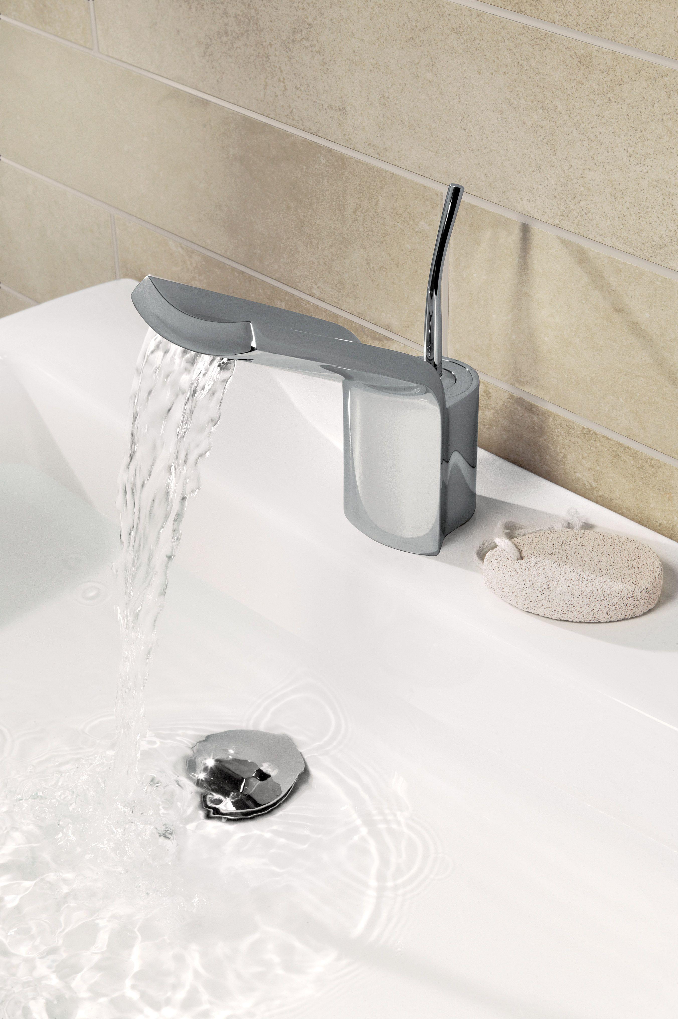 Glide Monobloc Bathroom Basin Tap From Crosswater Http Www Crosswater Co Uk Product Glide Glide Basin Monobloc